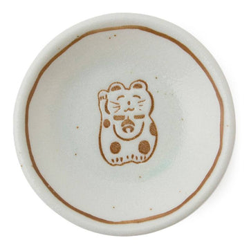 Fortune Cat Sauce Dish