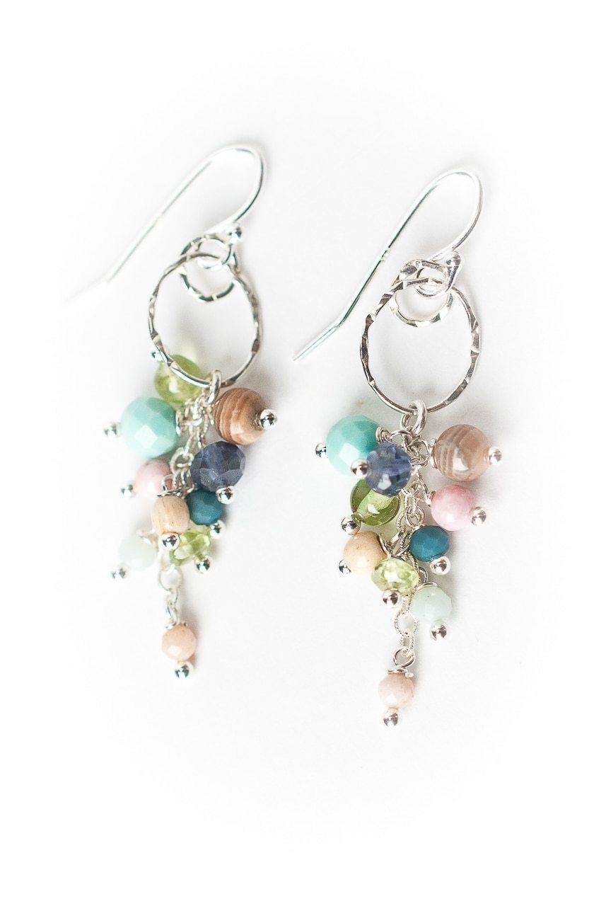 Fresh Air Cascade Earrings