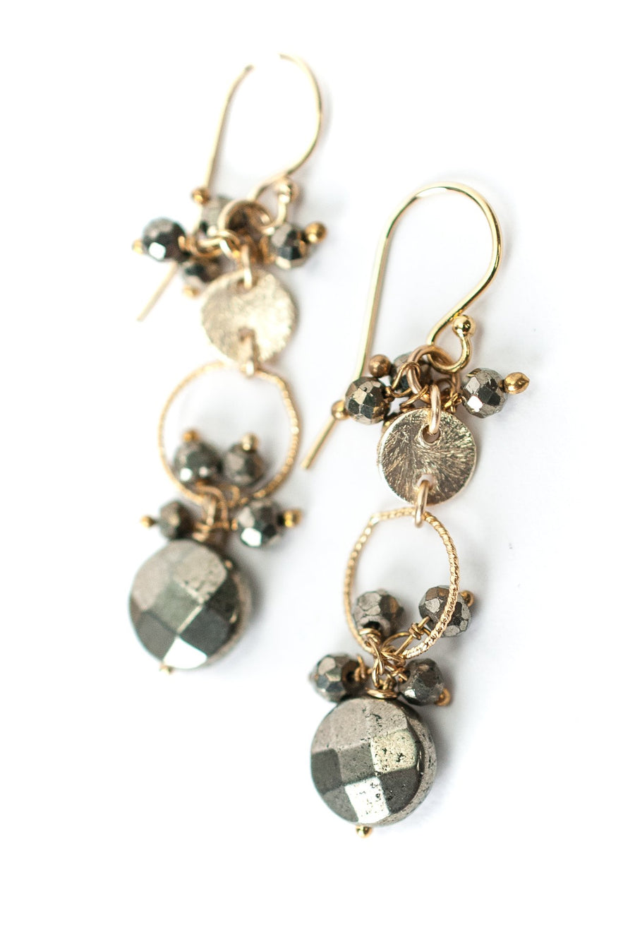 Guardian Pyrite Earrings