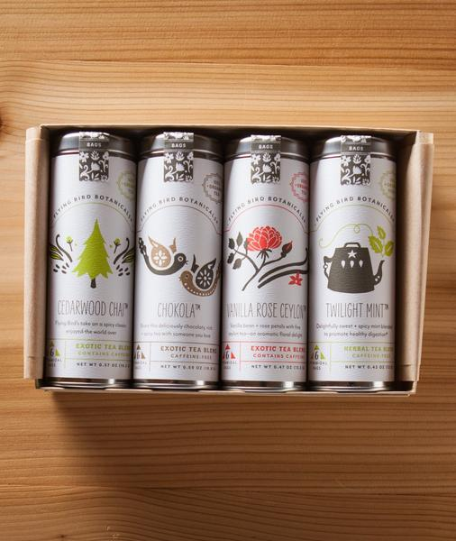 Holiday Cheer Organic Tea Gift Box