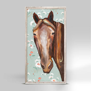 Horse Face Mini Canvas