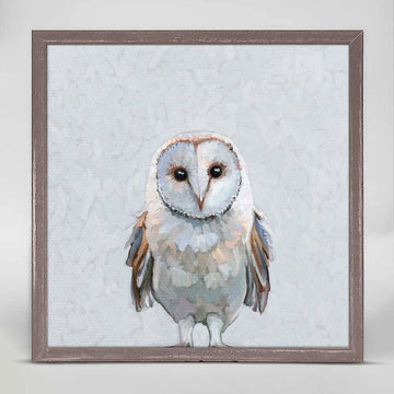 In This Together Owl Mini Canvas