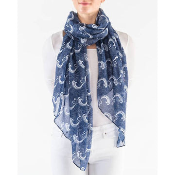 The Great Wave Scarf