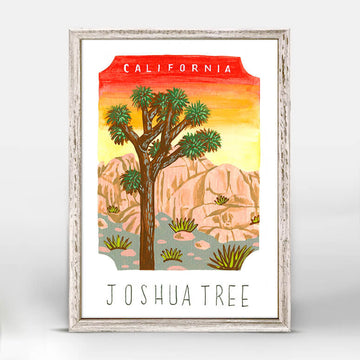 Joshua Tree National Park Mini Canvas