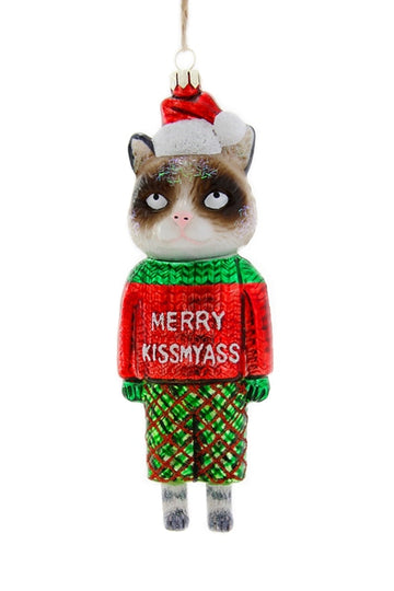 Merry Kissmyass Ornament