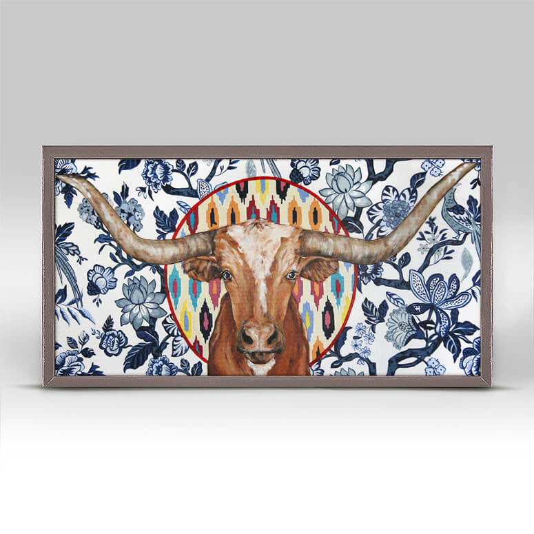 Longhorn Mini Canvas