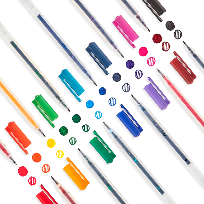 Color Luxe Fine Tip Gel Pens