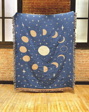 Moon Phases Throw
