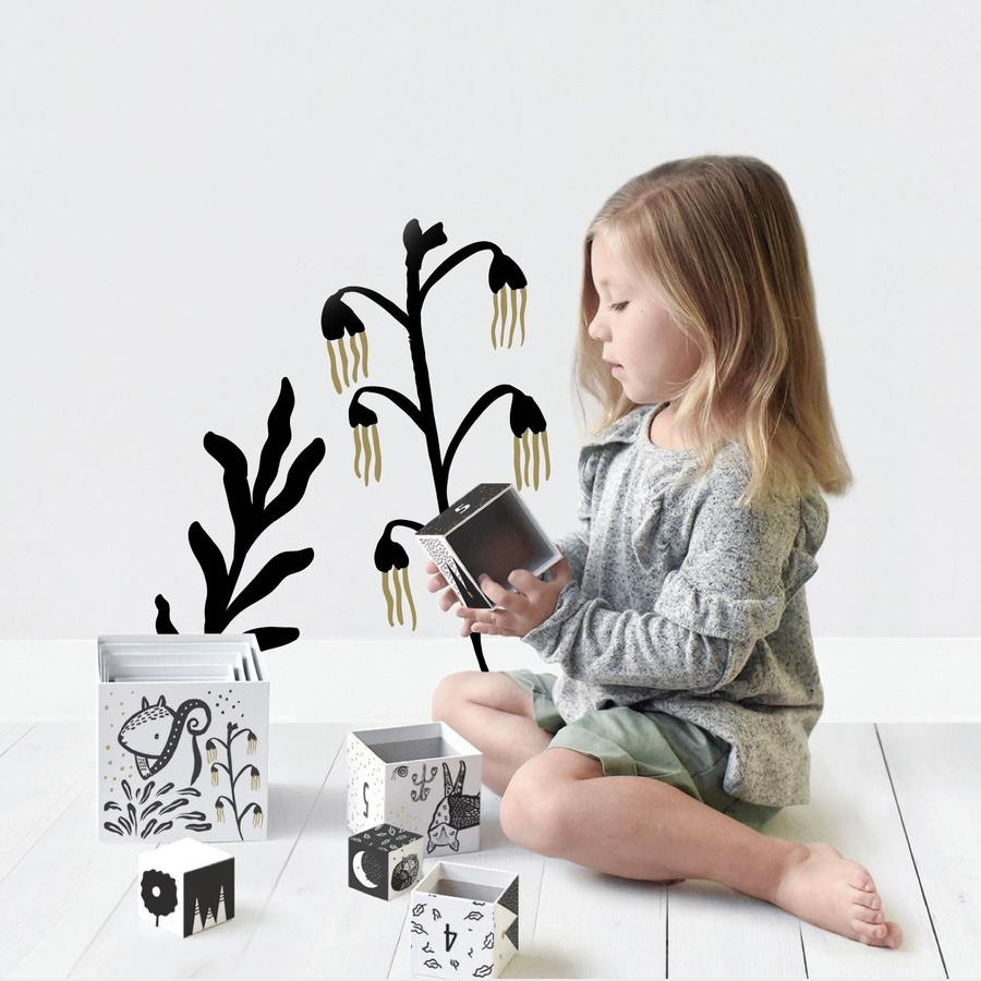 Woodland Animal Nesting Blocks