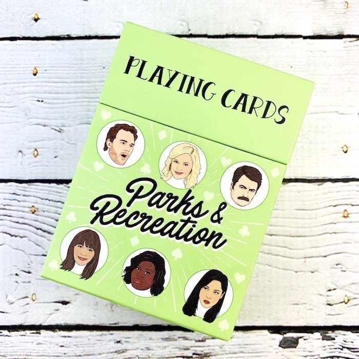 Parks & Recreation Playing Cards