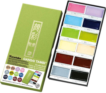 Japanese Pastel Watercolor Set