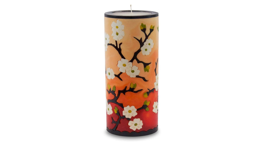 Plum Blossom Illuminated Candle