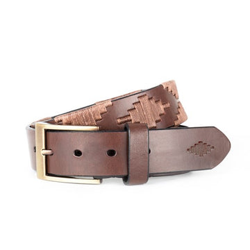 Black Label Leather Belt