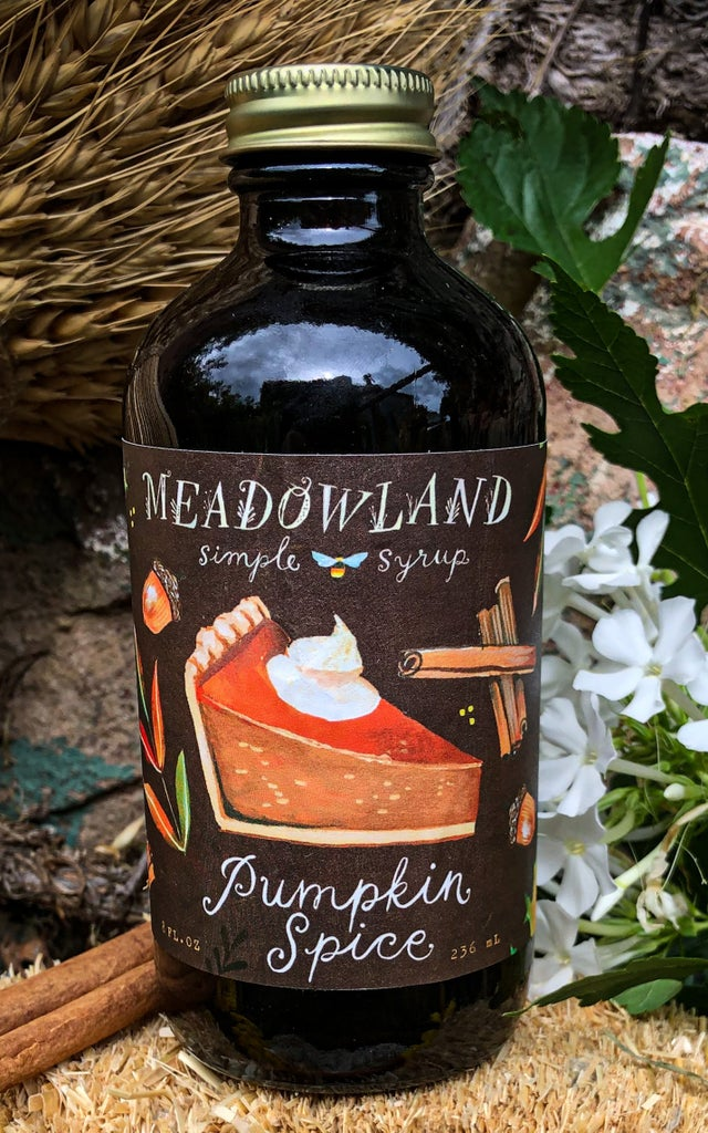 Pumpkin Spice Simple Syrup