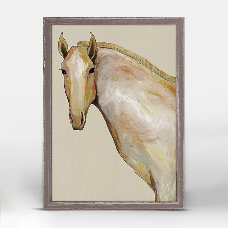 Ranch Horse Mini Canvas