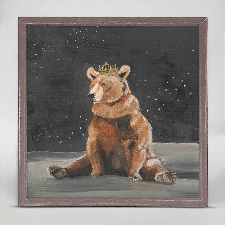 Royal Bear Mini Canvas