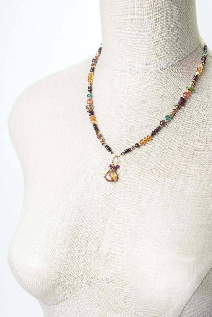 Sangria Necklace