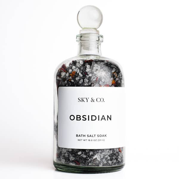 Bath Salt Soak - Obsidian