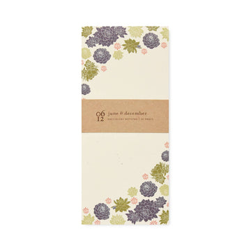 Succulents Note Pad