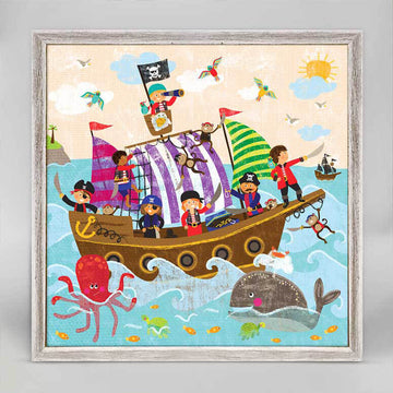 Swashbuckling Good Time Mini Canvas