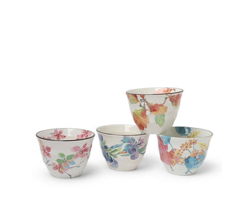 Flowers of Spring Teacup Set