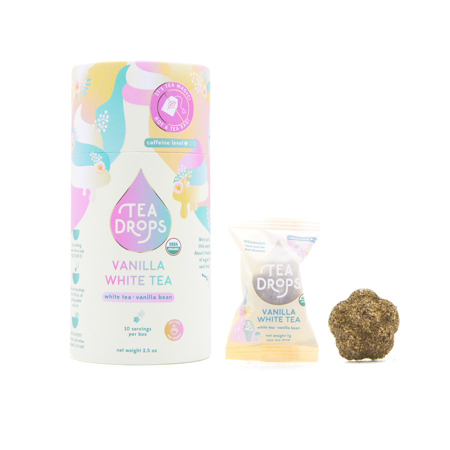 Tea Drops - Vanilla White