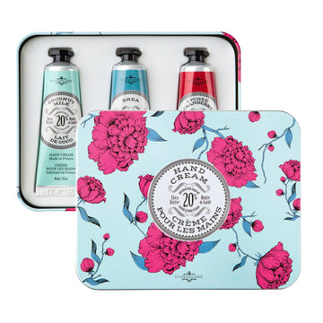 Hand Cream Trio Gift Tin