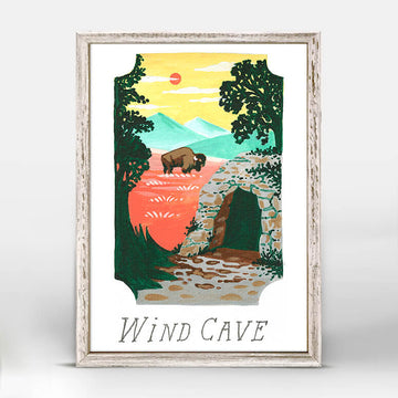 Wind Cave National Park Mini Canvas