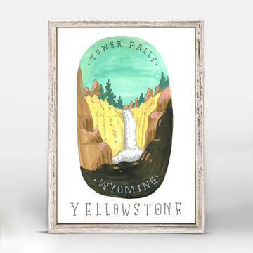Yellowstone National Park Mini Canvas