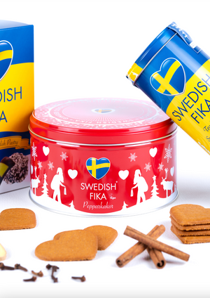 Swedish Fika Pepparkakor - Ginger Cookie