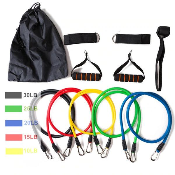 ⭐Award Winning RESISTANCE BAND SET - god-fit.com