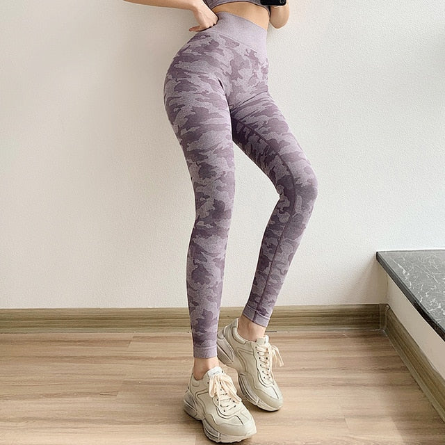 Camo Leggings - god-fit.com