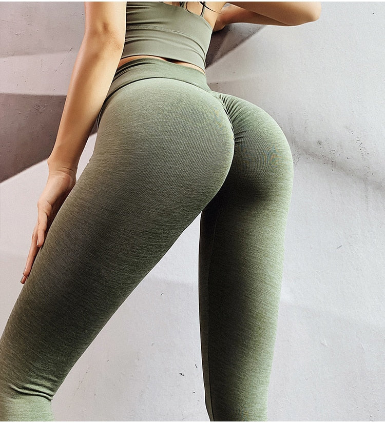 V Shape Waist Sports Leggings