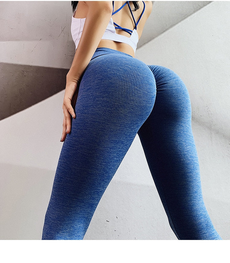 V Shape Waist Sports Leggings - god-fit.com