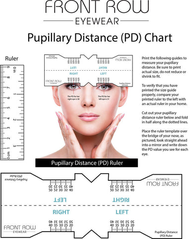 Pupillary Distance Guide
