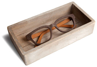 Eco-friendly wood glasses