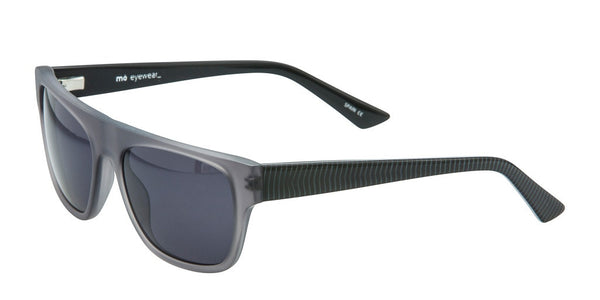 Mo Sunglasses Gray Striped Temples