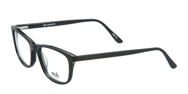 Mo Eyewear Biodegradable Eyeglasses in Matte Black