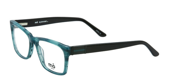 Mo Eyewear Aqua Blue Surfer Eyeglasses