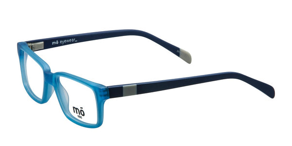 Mo Eyewear Light Blue and Navy Acetate Eyeglass Frames
