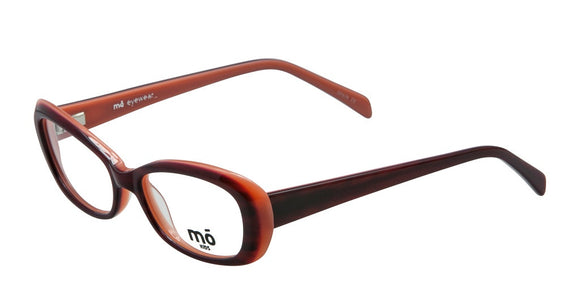 Mo Eyewear Red-Burgundy Kids Prescription Eyeglasses