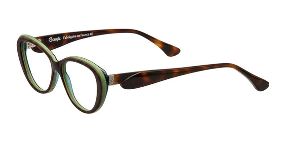 Bonnie Gourmande Tortoise and Light Green Cat Eye