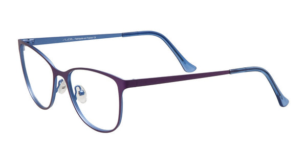 Slide Purple and Blue Titanium Frame
