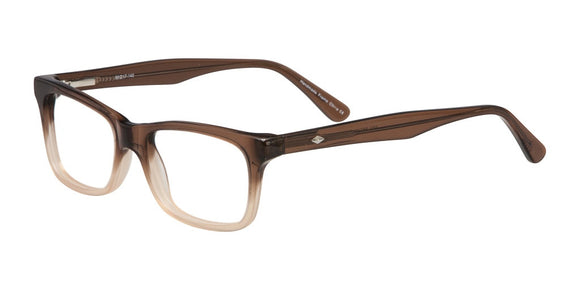 Elan Brown Fade Eyeglasses