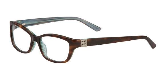 Dalva - Vivian Morgan Tortoise and Sky Blue Eyeglasses