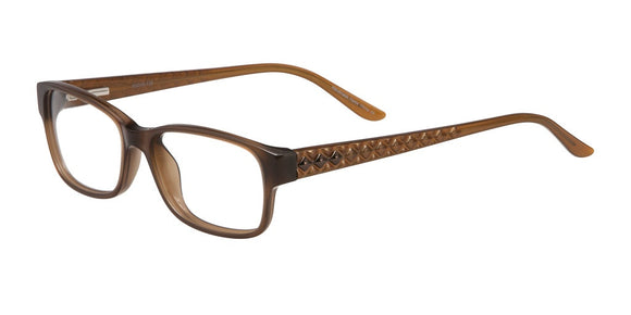 Darby - Vivian Morgan Toffee Square Eyeglasses