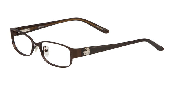 Deka - Vivian Morgan Brown-Metal Eyeglasses