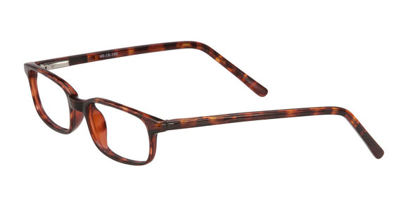 PRIVATE LABEL Rectangular Tortoise Eyeglass Frames Giona