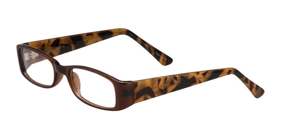 Ilar - Brown-Tortoise Plastic Prescription Eyeglasses