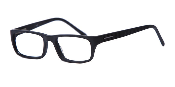 PRIVATE LABEL Black Plastic Eyeglass Frame Jaen
